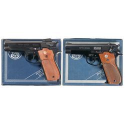 Two Boxed Smith & Wesson Semi-Automatic Pistols