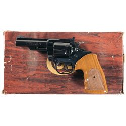 Colt Trooper Mark III Double Action Revolver in 22 Magnum with Original Box