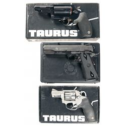 Three Taurus Handguns