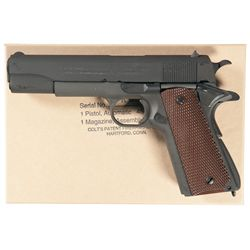Colt WWII Reproduction Model 1911A1 Semi-Automatic Pistol with Original Box