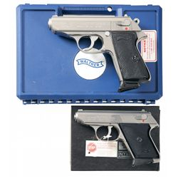 Two Boxed Walther/Interarms Semi-Automatic Pistols