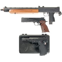 Three Semi-Automatic Pistols