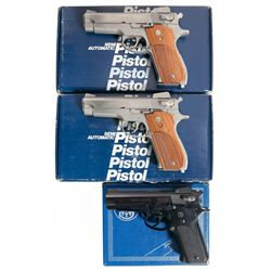 Three Boxed Smith & Wesson Semi-Automatic Pistols