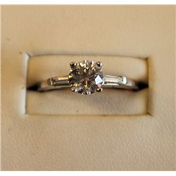 FANCY LADIES DIAMOND ENGAGEMENT RING
