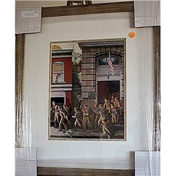 Norman Rockwell Lithograph