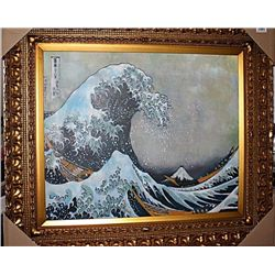 In The Well Of The Great Wave  -Katsushika Hokusai Limited Edition