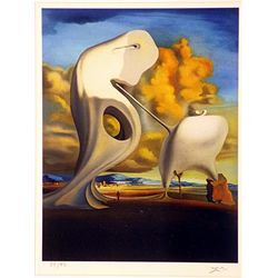 Salvador Dali Signed Limited Edition - The Architectural Angelus of Millet