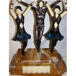 Finale - Bronze and Ivory Sculpture by Chiparus