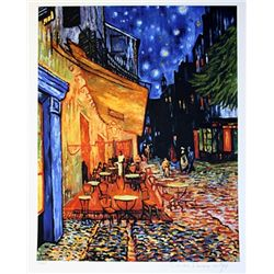 Limited Edition Van Gogh- Terrace Cafe - Collection Domaine Van Gogh