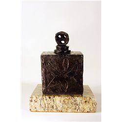 Joan Miro  Original, limited Edition  Bronze -FEMME