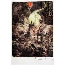 Original Louis Icart Lithographs from Le Faust suite - Soul Seeker
