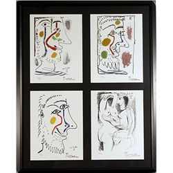 Picasso Limited Edition Lithographs Set