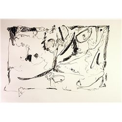 Original Hand Draw, Ink Drawing on paper  Signed  Kandinsky