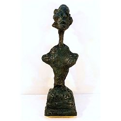Alberto Giacometti  Original, limited Edition  Bronze - Annette VI