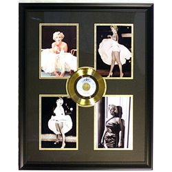 Marilyn Monroe four Giclees with Gold Record