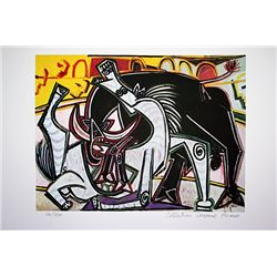 Picasso Limited Edition - Bullfight - from Collection Domaine Picasso