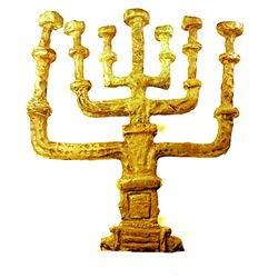Rare Salvador Dali 24k Gold Limited Edition Bronze- Chandelier de la Paix Menorah