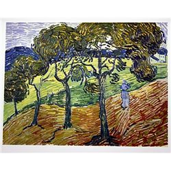 Landscape with Figures by Van Gogh