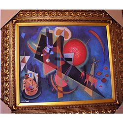 In Blue  by Kandinsky