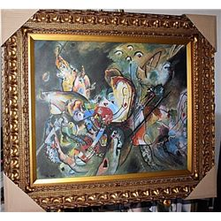 Overcast  Kandinsky - Limited Edition on canvas