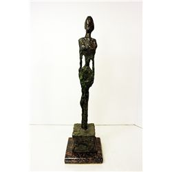Alberto Giacometti  Original, limited Edition  Bronze - WOMAN ON CHARRIOT