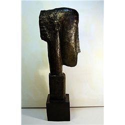 Modigliani  Original, limited Edition  Bronze - Man's Profile