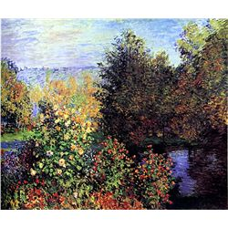 Corner of the Garden at Montgeron by Monet