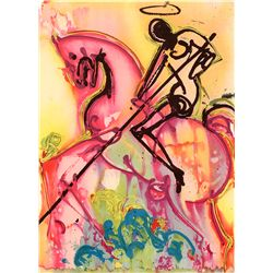 St. George - Dali - Limited Edition on Canvas