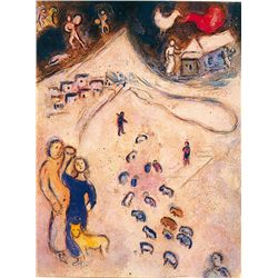Winter- Chagall - Limited Edition on Canvas