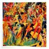 Leroy Neiman Double Signed Lithograph - Disco Bunnies-