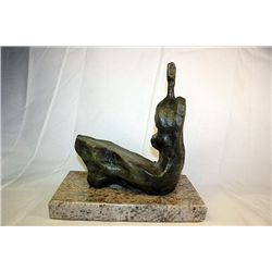 Henry Moore  Original, limited Edition  Bronze- Homme
