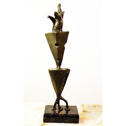 Salvador Dali Original, limited Edition Bronze - APPARATUS AND HAND