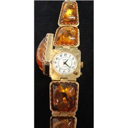 Baltic Amber Bracelet Watch