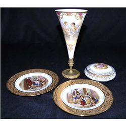 Group lot of 4 pieces Limoges