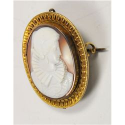 Early Victorian oval cameo