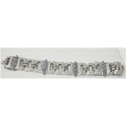 Art Deco platinum & diamond bracelet
