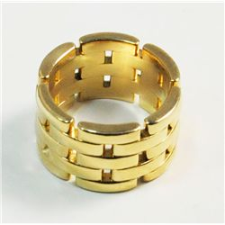 18kt yellow gold Cartier ladies ring