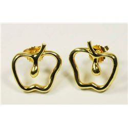 "Tiffany ""Apple"" earrings"