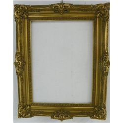 19th c. gilt carved frame