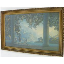 "Maxfield Parrish print ""Day Break"""