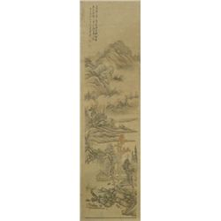 Chinese scroll painting by Luo Da Kun
