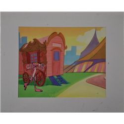 Pink Panther Circus Original Production Cel & Drawing
