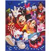 Image 2 : 4 Disney Prints Mickey &amp; Friends Bikes, Rollercoaster