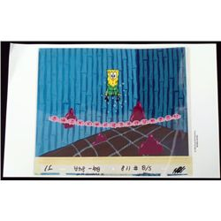 Spongebob Production Unexpected Original Cel Art