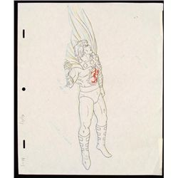 X-Men Drawing Orignal Animation Archangel Injured