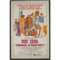Norman Is That You? Orig1 Sheet Movie Poster Redd Foxx