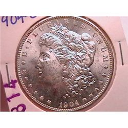 1904-O Morgan Dollar MS63