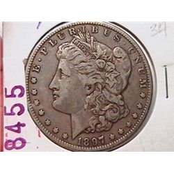 1897-O Morgan Dollar F15