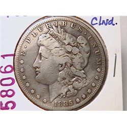 1885-S Morgan Dollar F12