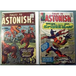 2 Marvel Tales To Astonish Comic Books